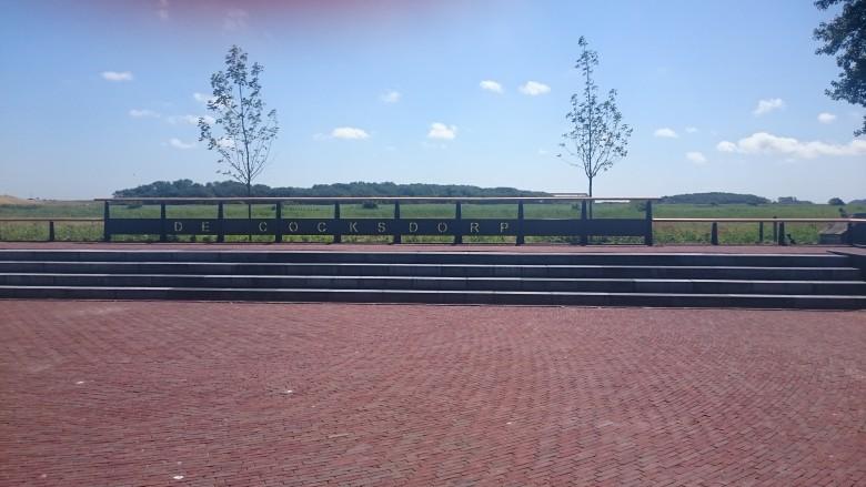 Hekwerk centrale plein De Cocksdorp