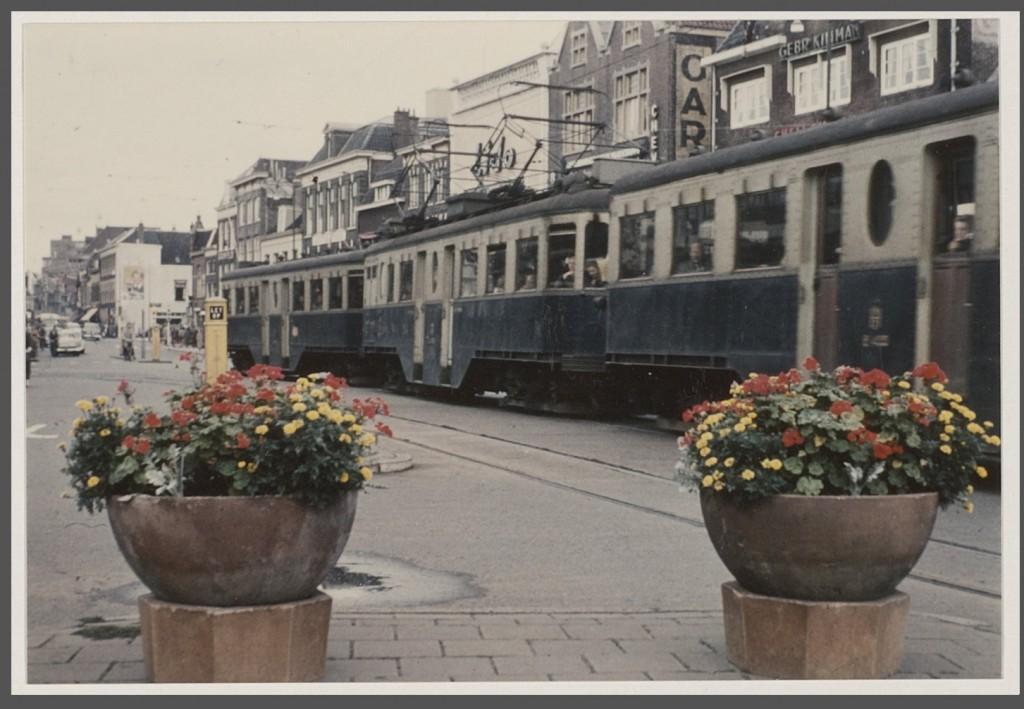Het Houtplein in 1957